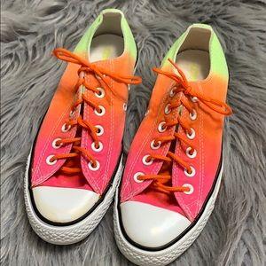 Converse rainbow ombré sneakers 8